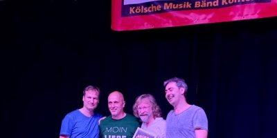 KLABES gewinnt den Kölsche Musik Bänd Kontest 2019